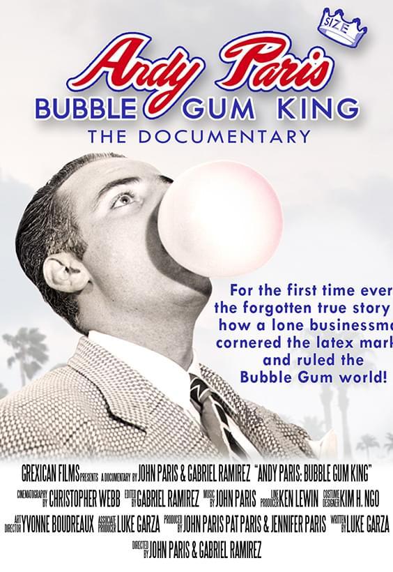 Andy Paris Bubble Gum King